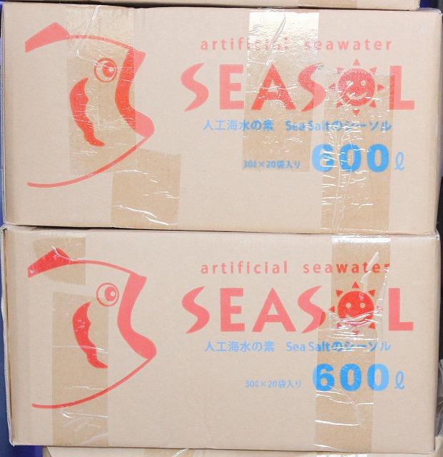 画像1: 人工海水 600L 一箱