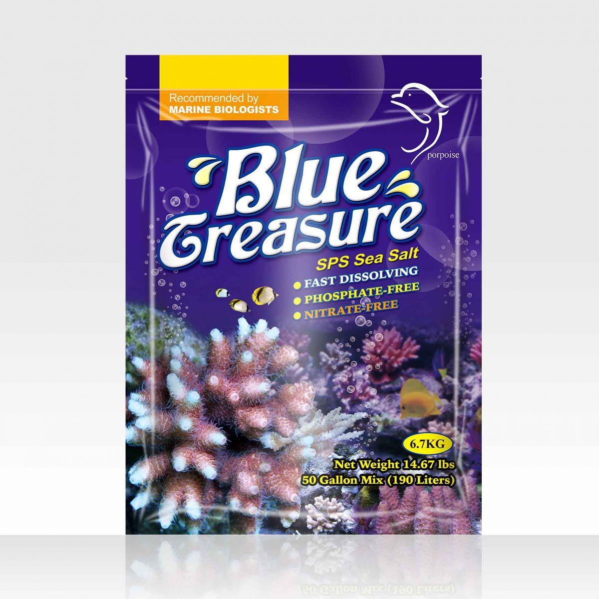 画像1: BlueTreasure ブルートレジャー・SPSソルト 200L用 人工海水 (1)
