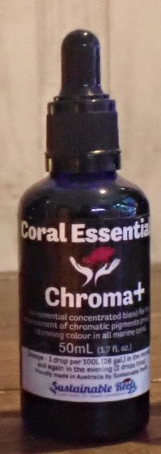 画像1: 50ml Chroma+ クローマプラス Coral Essentials コーラルエッセンシャル 添加剤    (1)
