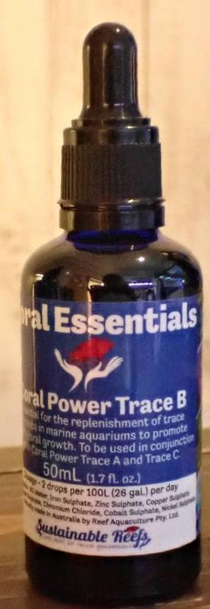 画像1: Coral Power  TraceB コーラルパワートレースB Coral Essentials コーラルエッセンシャル  トレースB トレース 添加剤    (1)