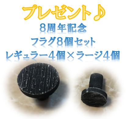 画像1: 8周年記念 プレゼント商品 (1)